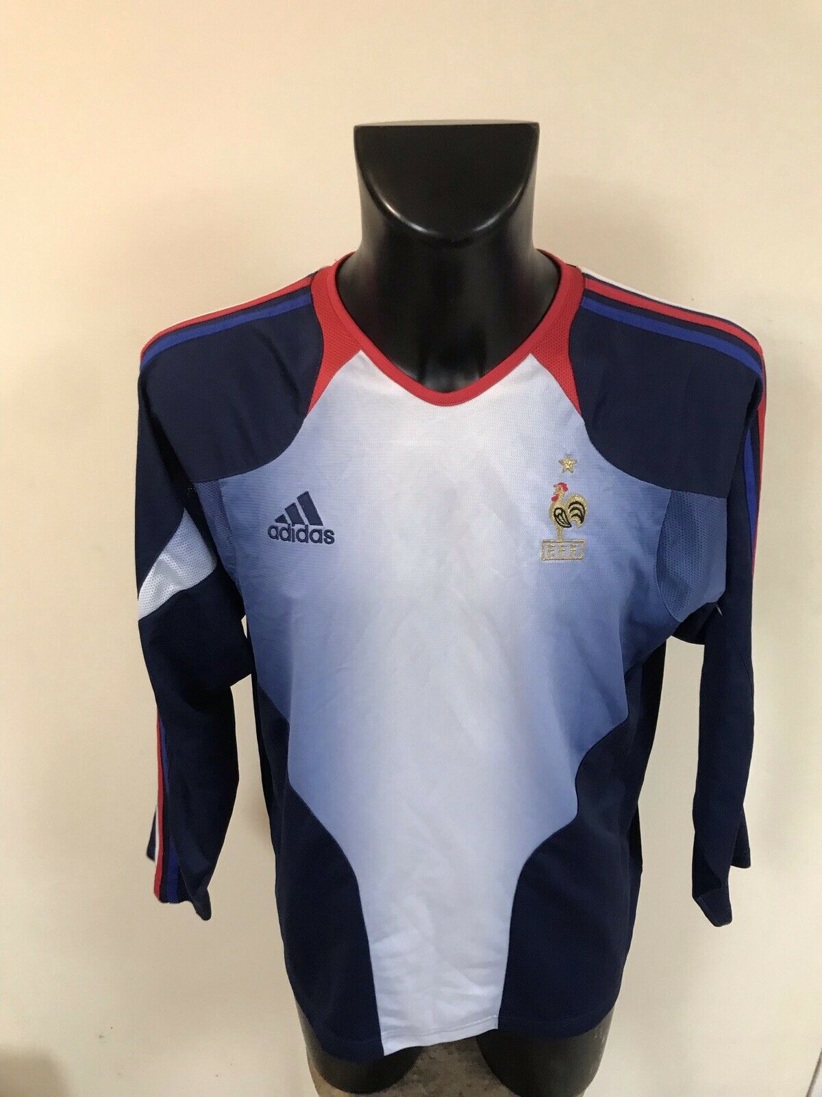 Maillot Foot Ancien Equipe De France Taille 4