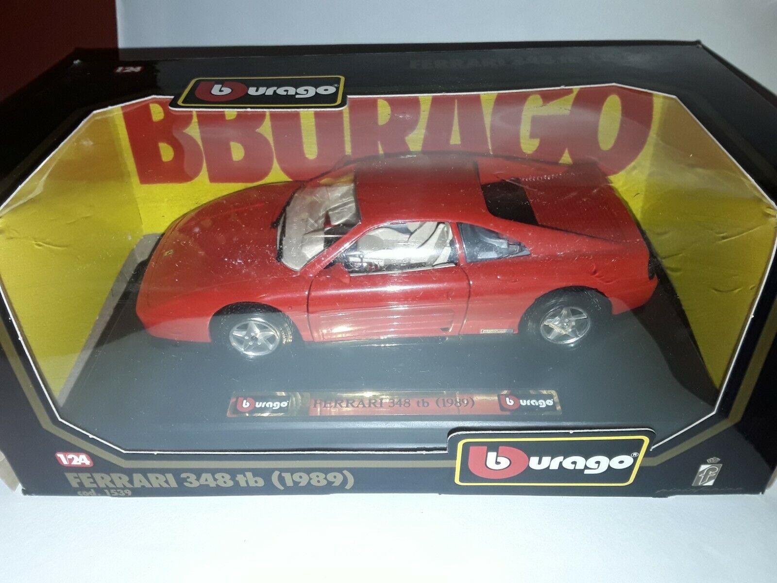 FERRARI 348 tb (1989) BURAGO au 1:24