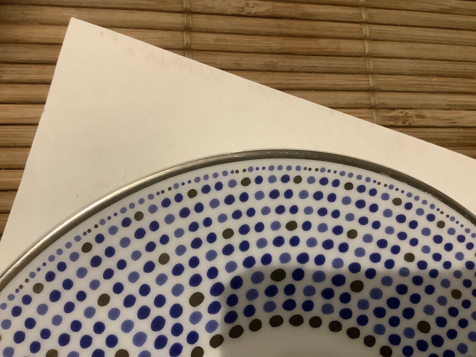 sous-tasse porcelaine Villa Toscana J. Seignolles