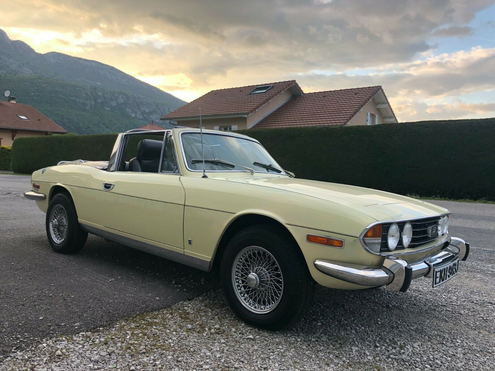Triumph Stag V8 convertible LHD left hand drive 1971 Federal USA spec