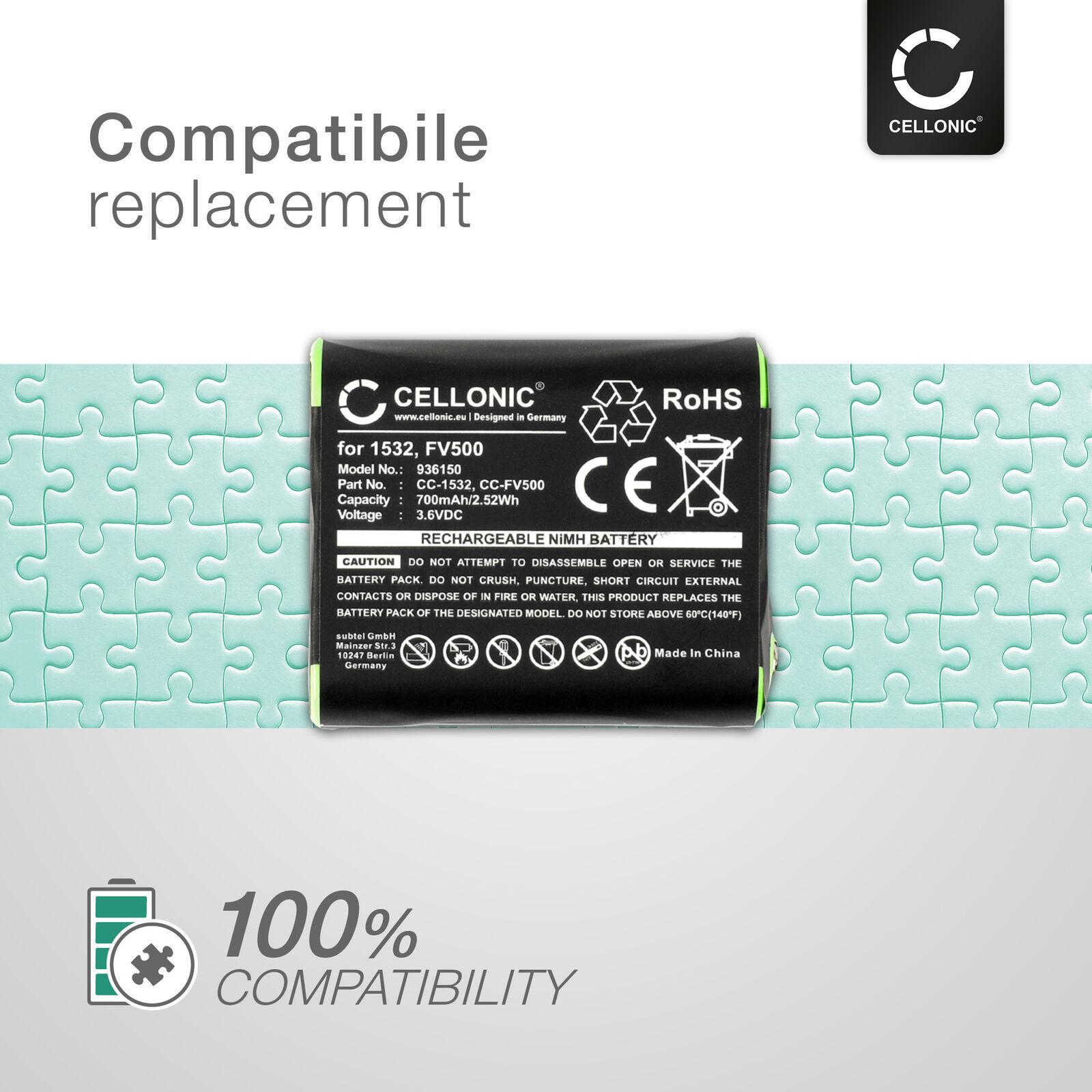 Batterie remplacement pour Motorola KEBT-071-A 700mAh
