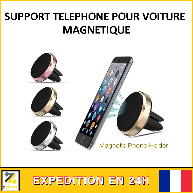 SUPPORT Magnétique UNIVERSEL VOITURE SMARTPHONE TELEPHONE aimant
