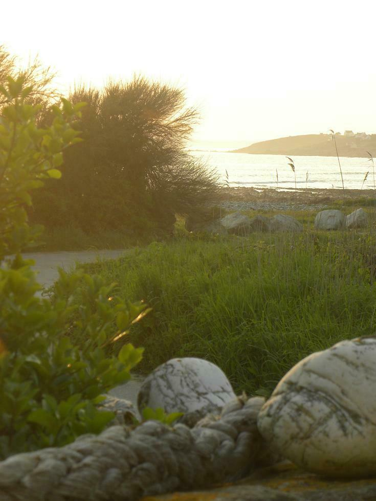 Maison de pêcheur en pierre a 30 pas de la mer