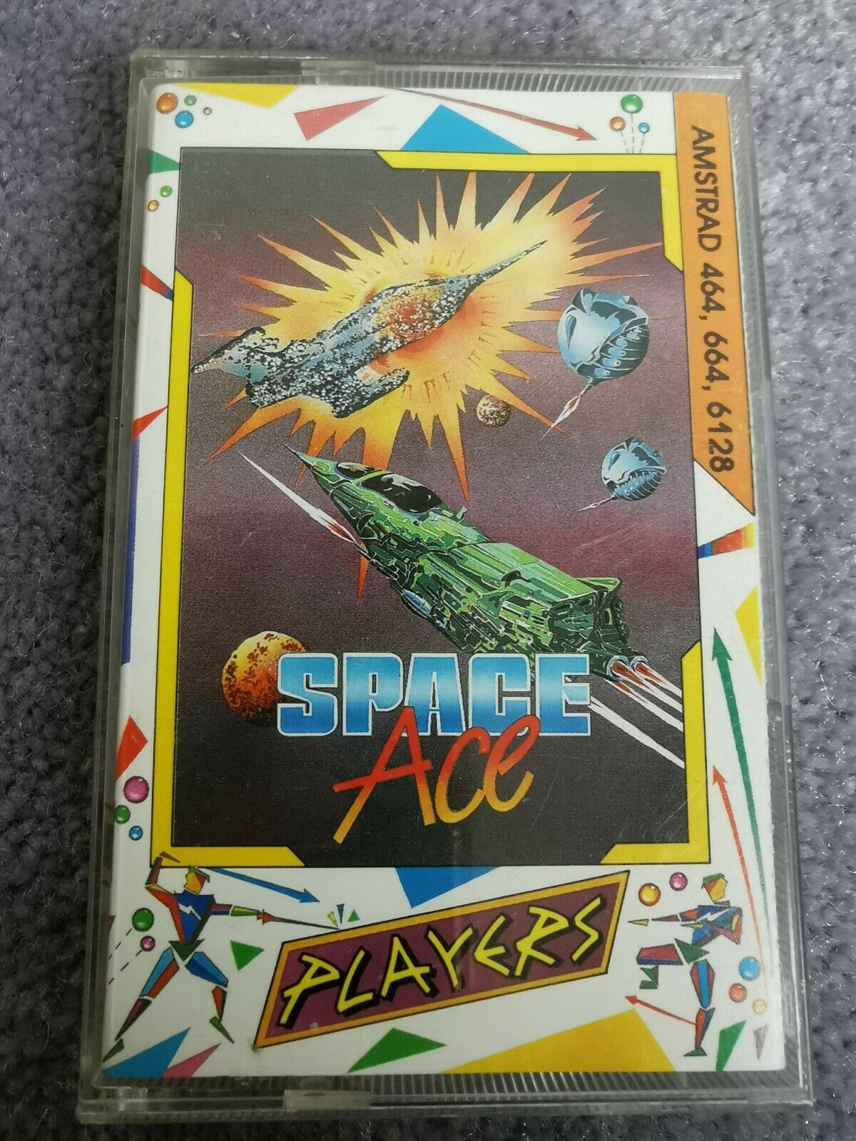 Amstrad cpc cassette k7 / SPACE ACE   / PLAYERS