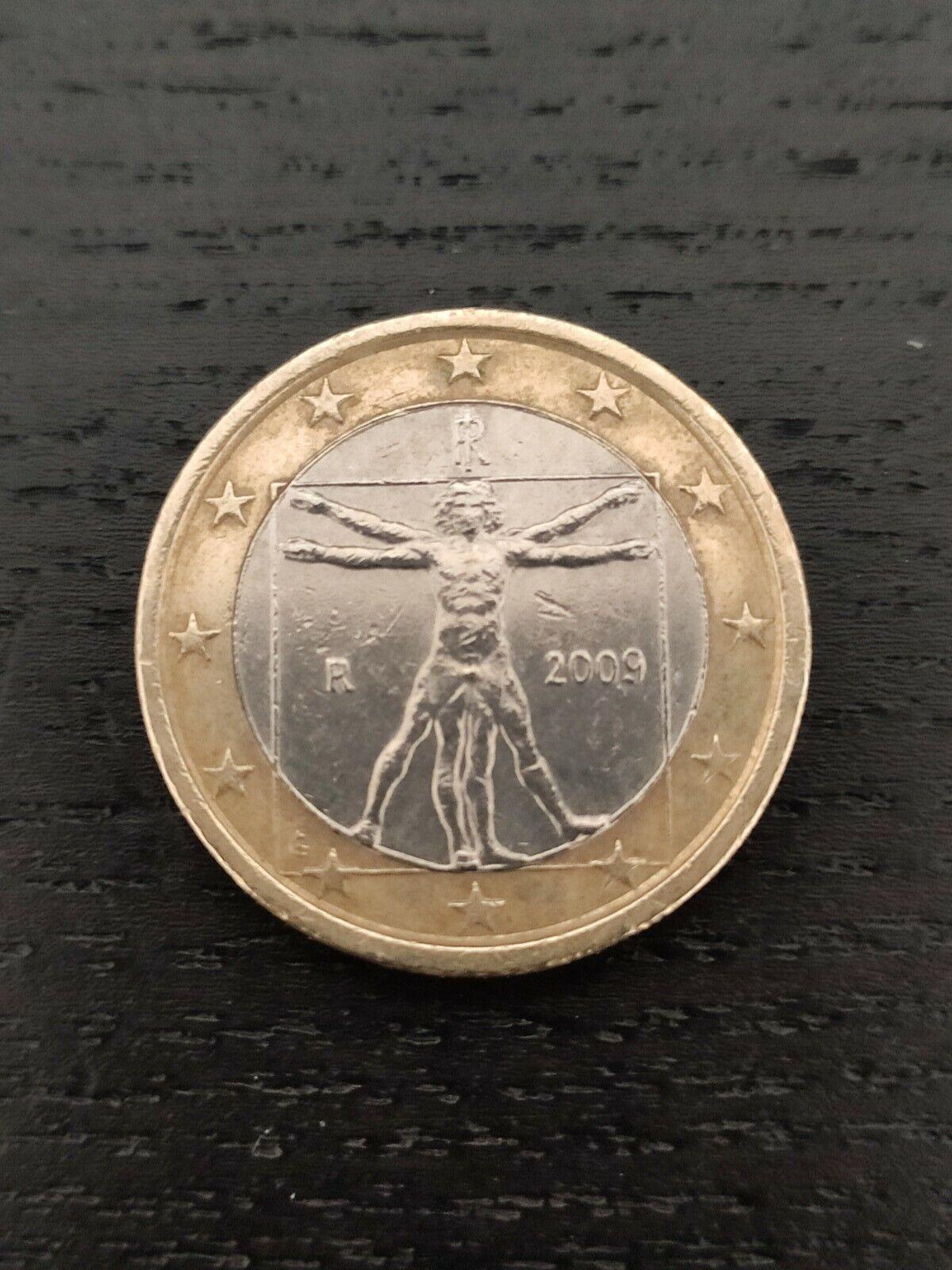 Pièce De 1 EURO Italie Année 2009