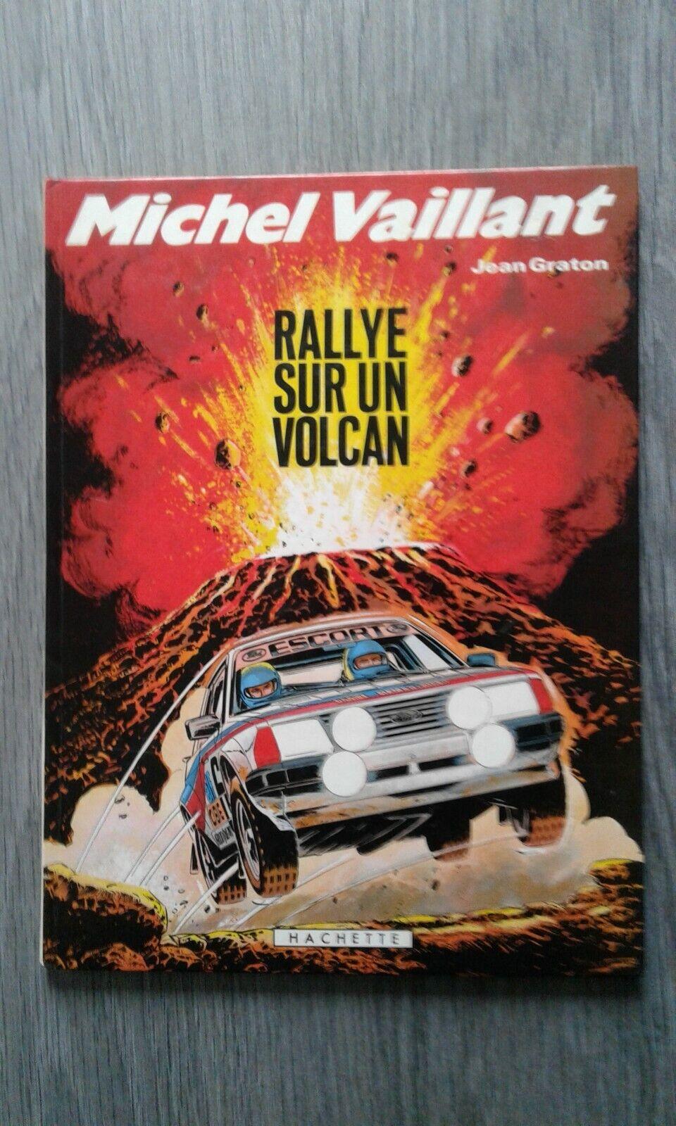 Michel vaillant ' rallye sur un volcan ' bd eo