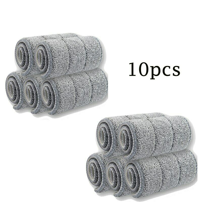10 Serpillière housses microfibre Taille 33x12 cm