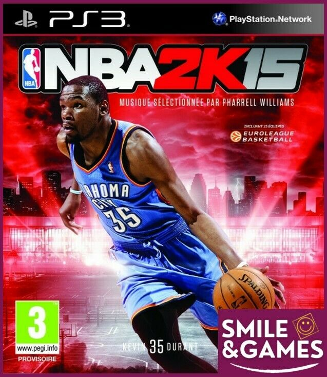 NBA 2K15 - PS3 -☺️Smile&Games☺️ Port groupés gratuit !