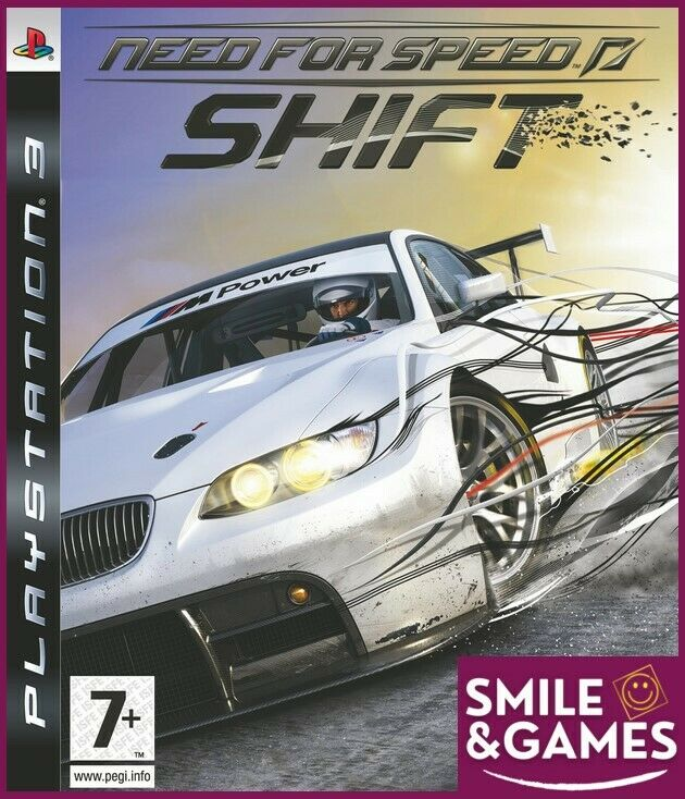NEED FOR SPEED SHIFT - PS3 -☺️Smile&Games☺️ Port groupés gratuit !