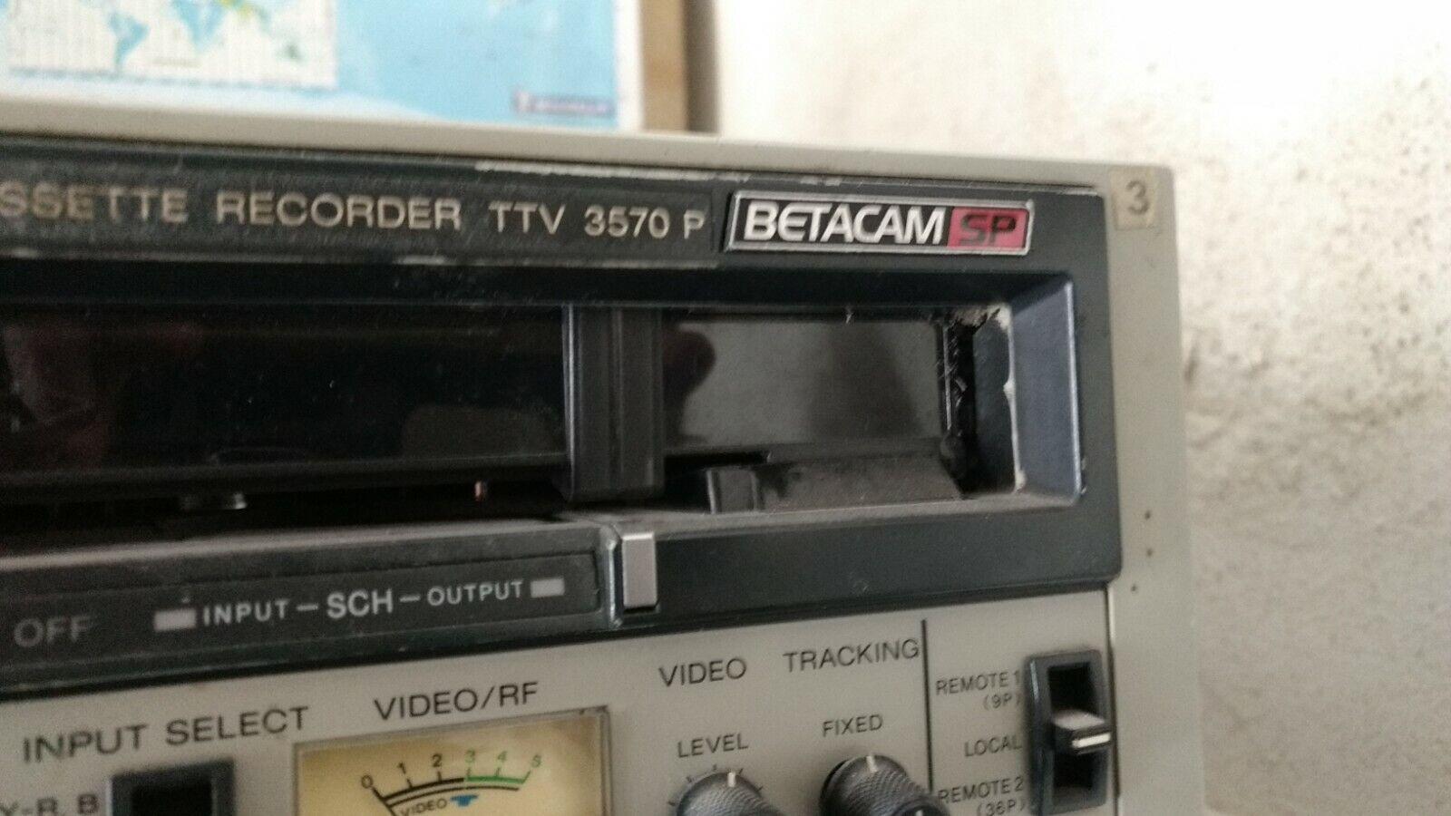 Betacam SP Thomson TTV 3570P