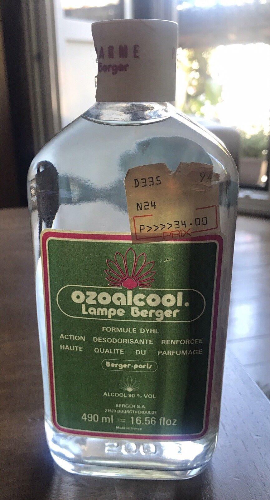 Bouteille d'alcool pour lampe berger 490 ml