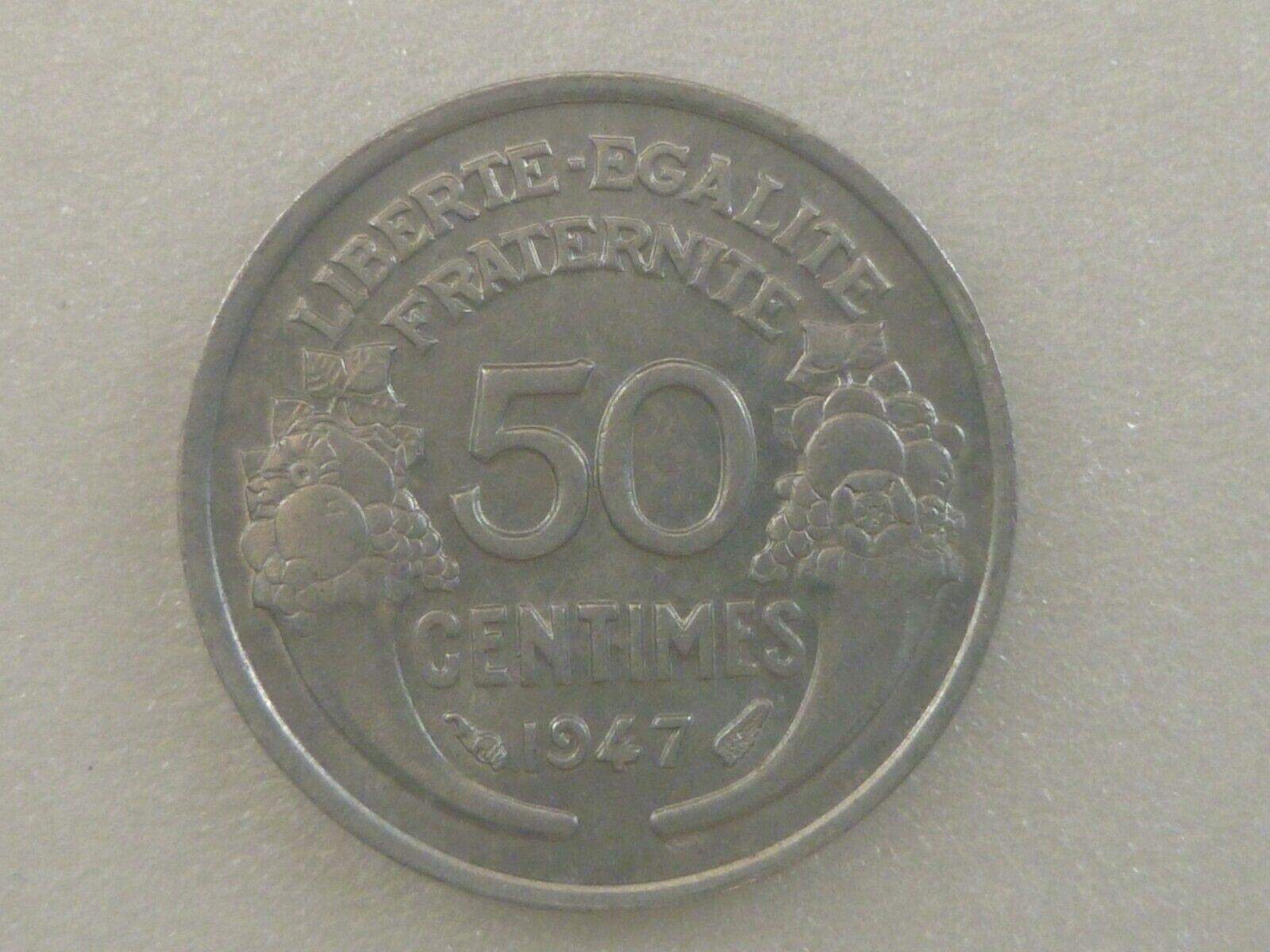 FRANCE 50 centimes -1947- aluminium FDC/UNC