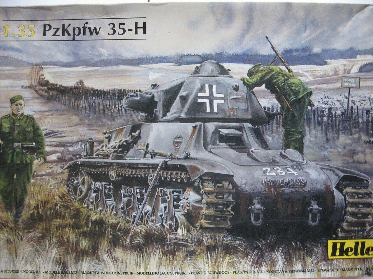 Panzer PzKpfw 35 - H Heller 1/35