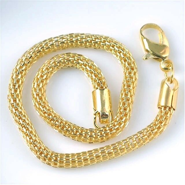 COLLIER FANTAISIE SERPENT COULEUR OR - NEUF