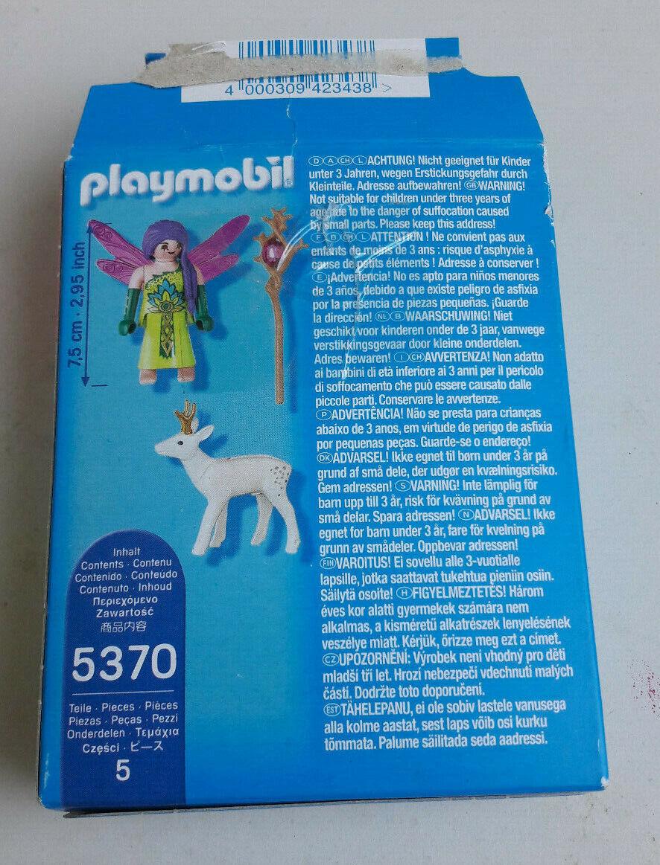 PLAYMOBIL 'SPECIAL PLUS' 5370 FEE AILEE AVEC CHEVREUIL ENCHANTE + BOITE COMPLET
