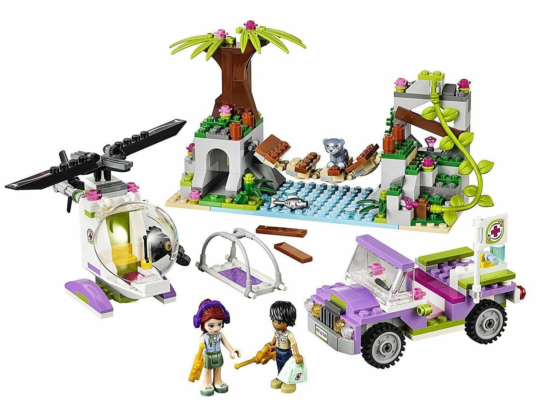 LEGO FRIENDS * OPERATION D'URGENCE SUR PONT DE LA JUNGLE REF 41036 * + 2 NOTICES