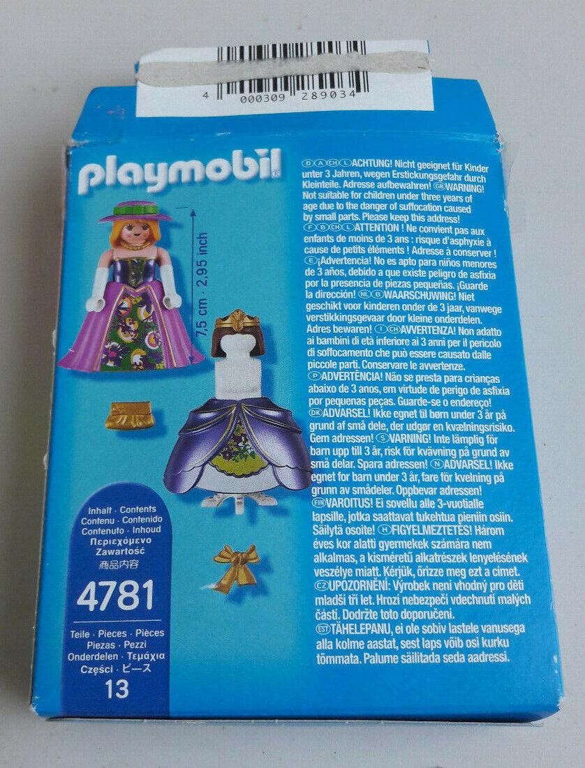 PLAYMOBIL ' SPECIAL PLUS ' 4781 PRINCESSE AVEC ROBE ROYALE ET MANNEQUIN + BOITE