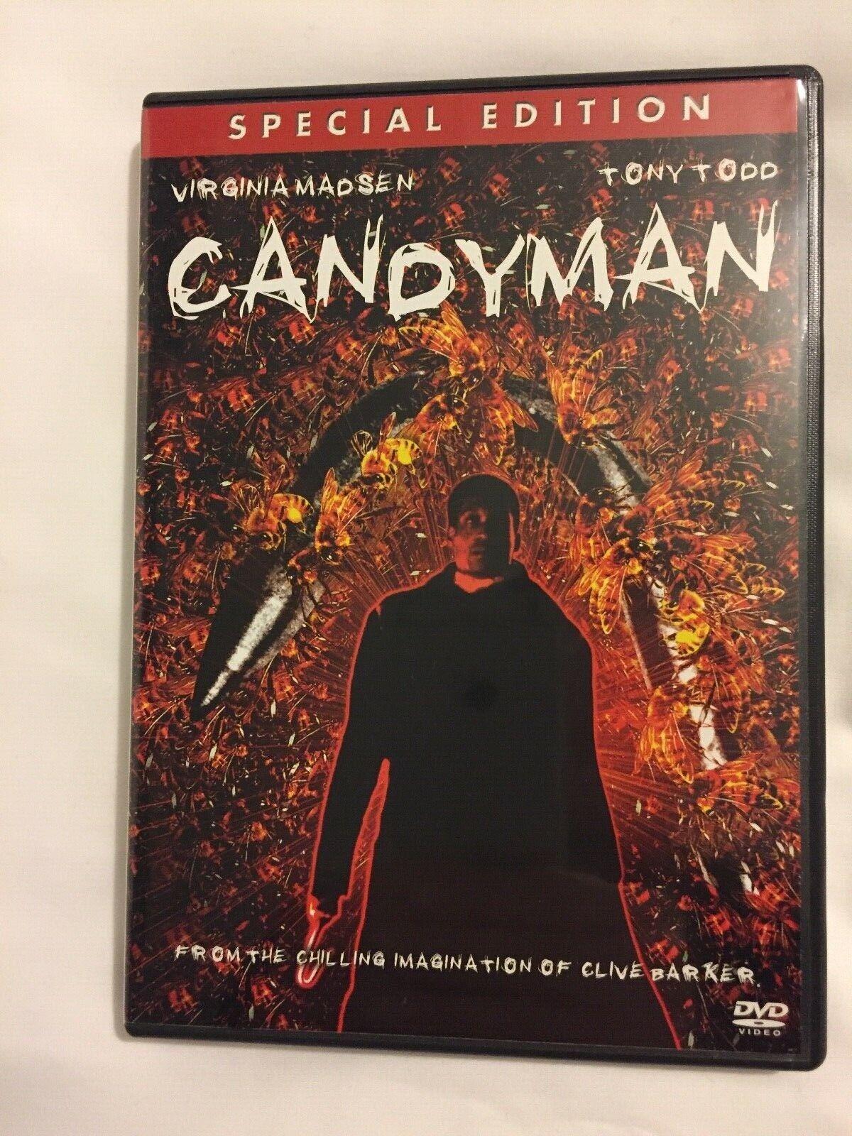 Candyman (Clive Barker, Virginia Madsen, Tony Todd) - DVD ZONE 1 EN PARFAIT ÉTAT