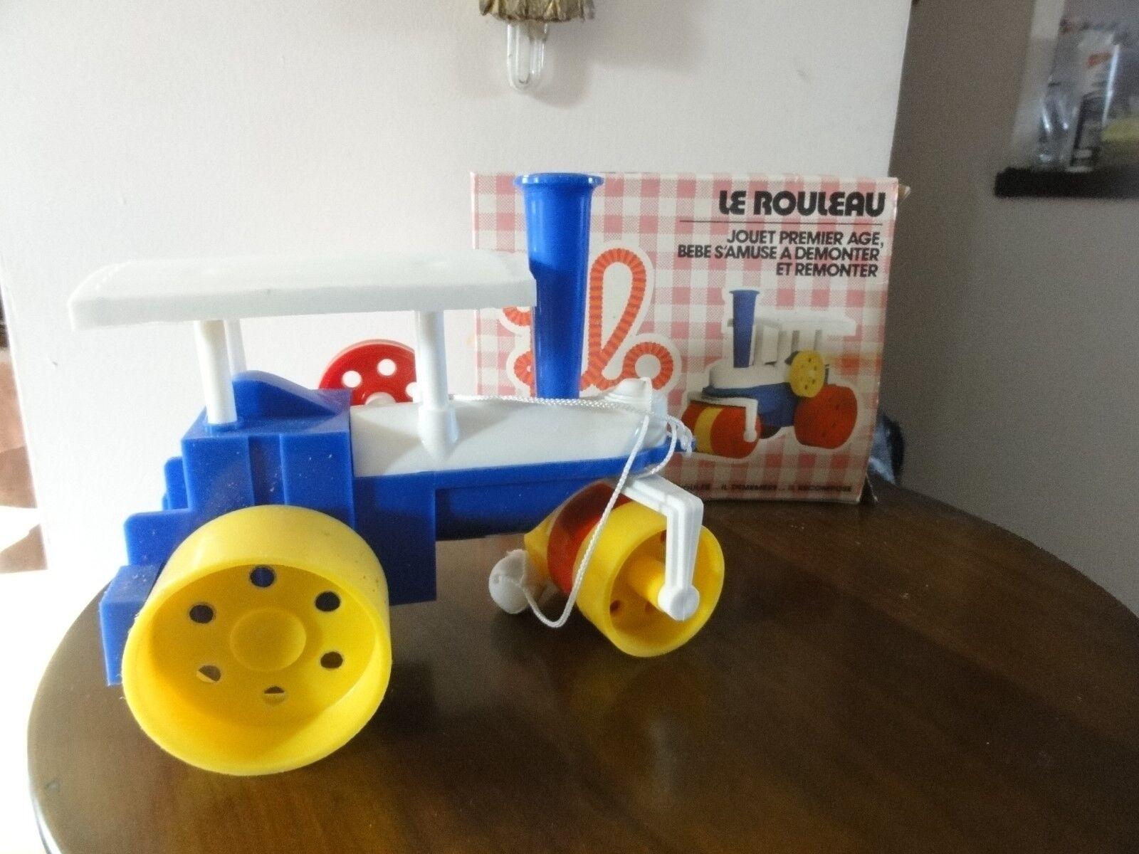 jeu méccano. filo. le rouleau. jouet 1er  age.a démonter et remonter.neuf