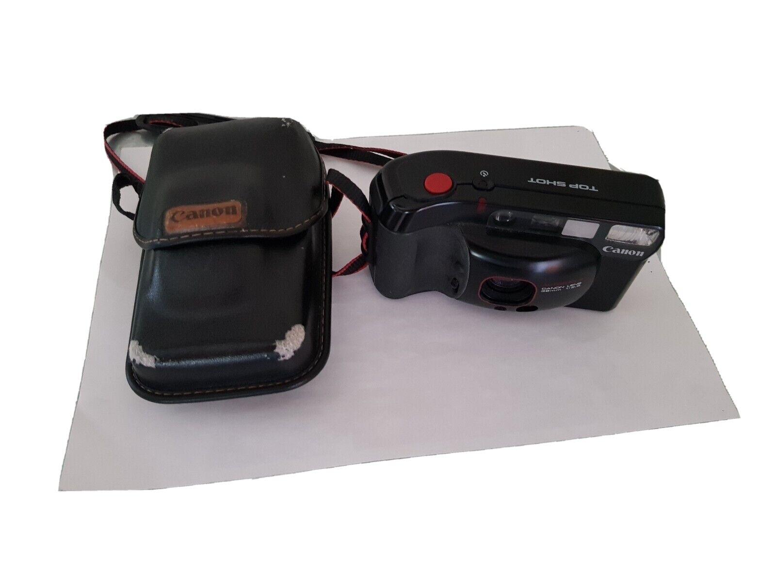 Compact argentique CANON TOP SHOT  Autofocus 38mm 1:2.8