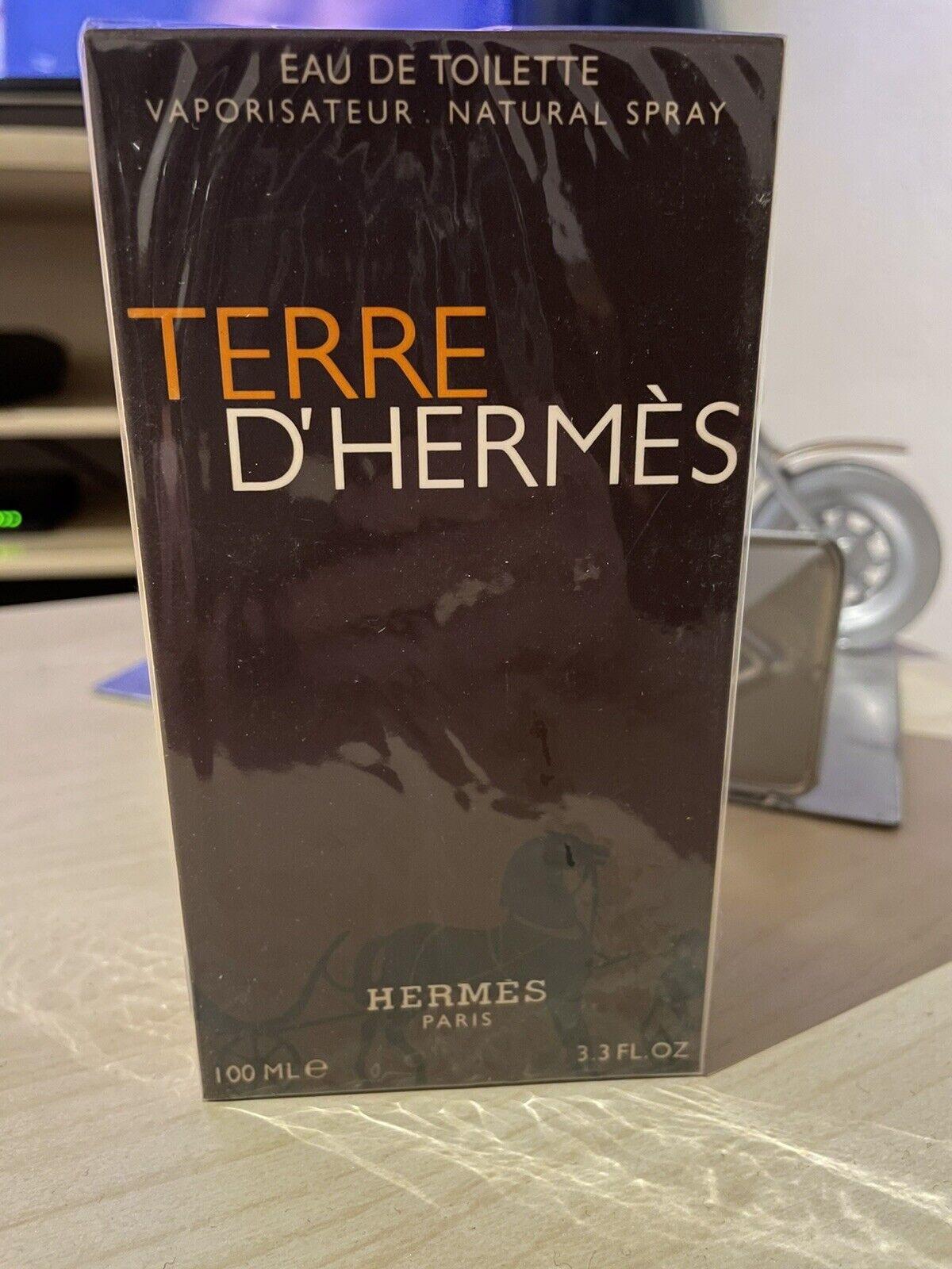 Eau de toilette homme 100 ml TERRE D'HERMÈS