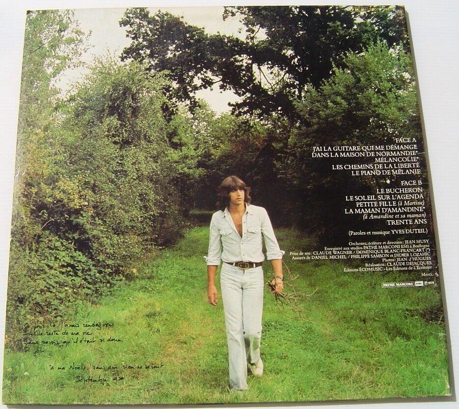 YVES DUTEIL .J'ai La Guitare Qui Me De Demange .  LP