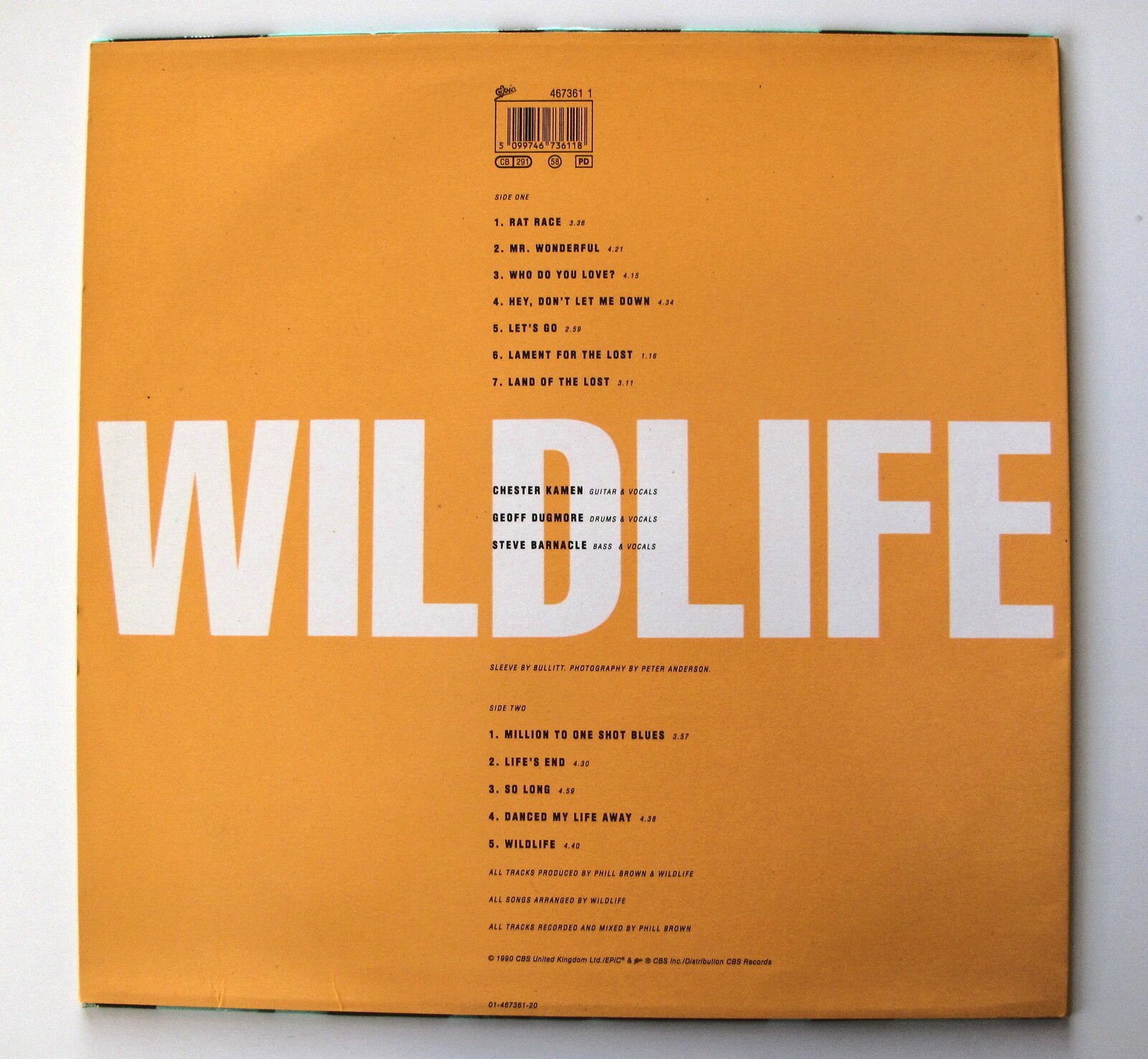 WILDLIFE.................WILDLIFE....................LP