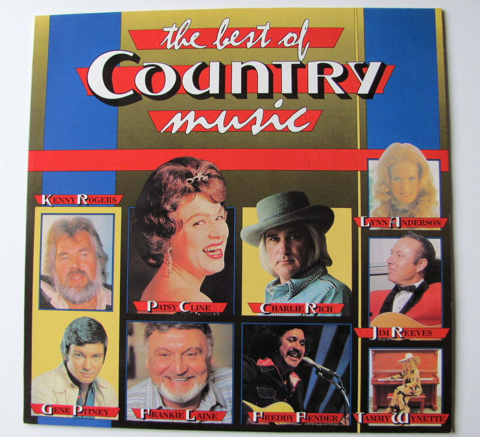 THE BEST OF COUNTRY MUSIC ........   LP