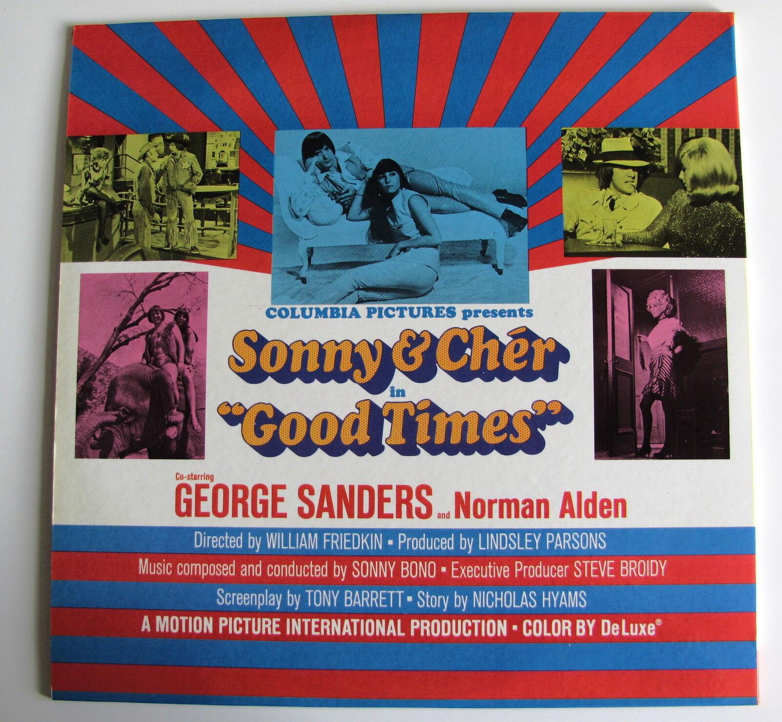 SONNY & CHER.........GOOD TIMES....(ACTO MONO)....LP