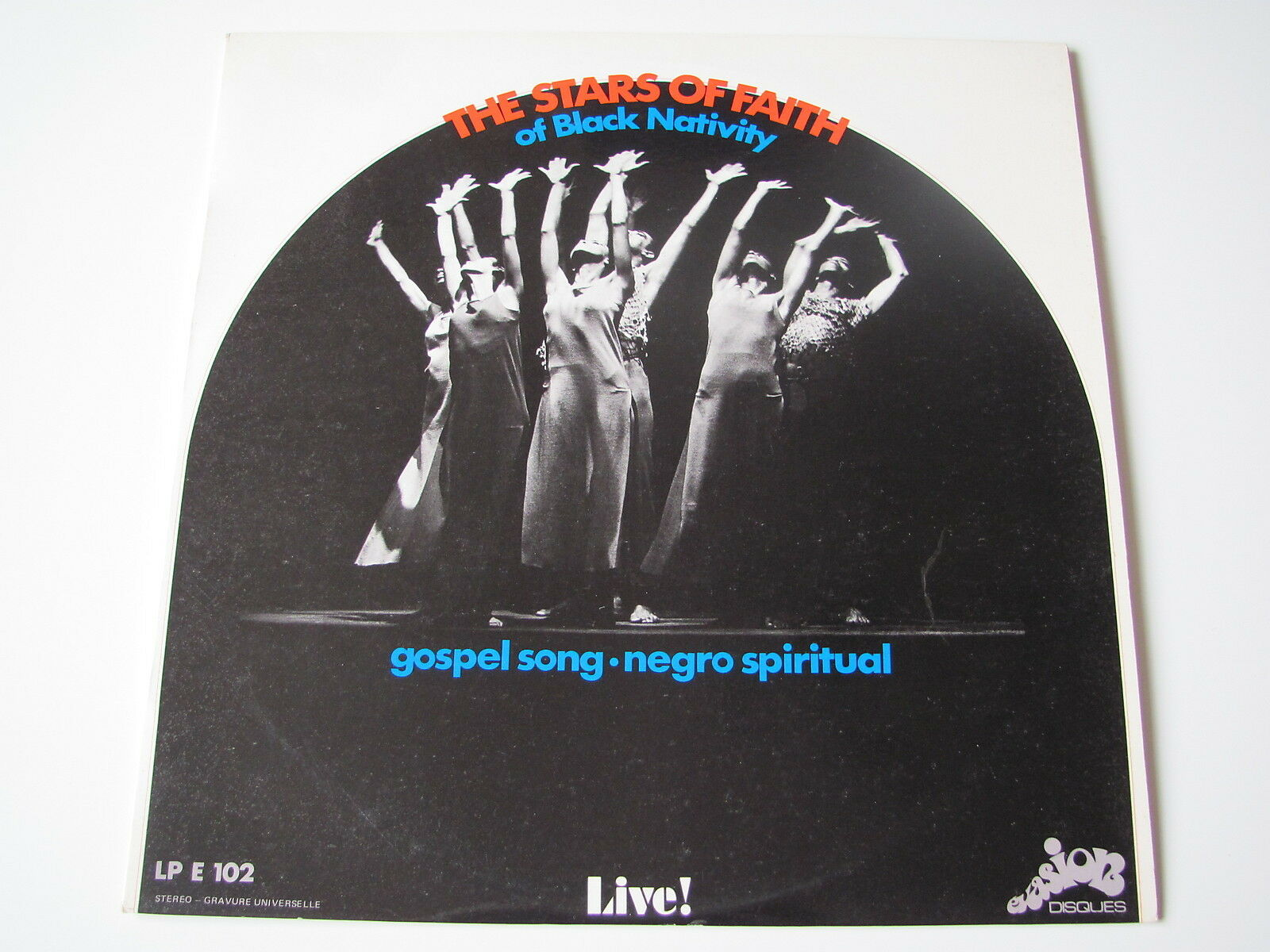 STARS OF FAITH ...... LIVE!.....(original french )...LP