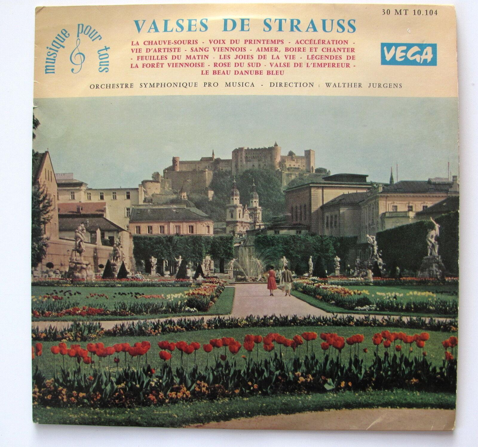 VALSES DE STRAUSS...DIR WALTHER  JURGENS...LP