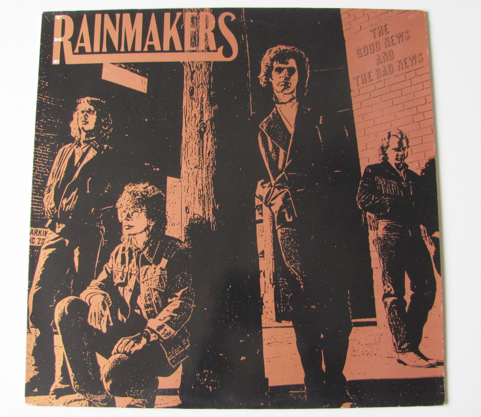 THE RAINMAKERS...THE GOOD NEWS AND THE DAB NEWS..... LP