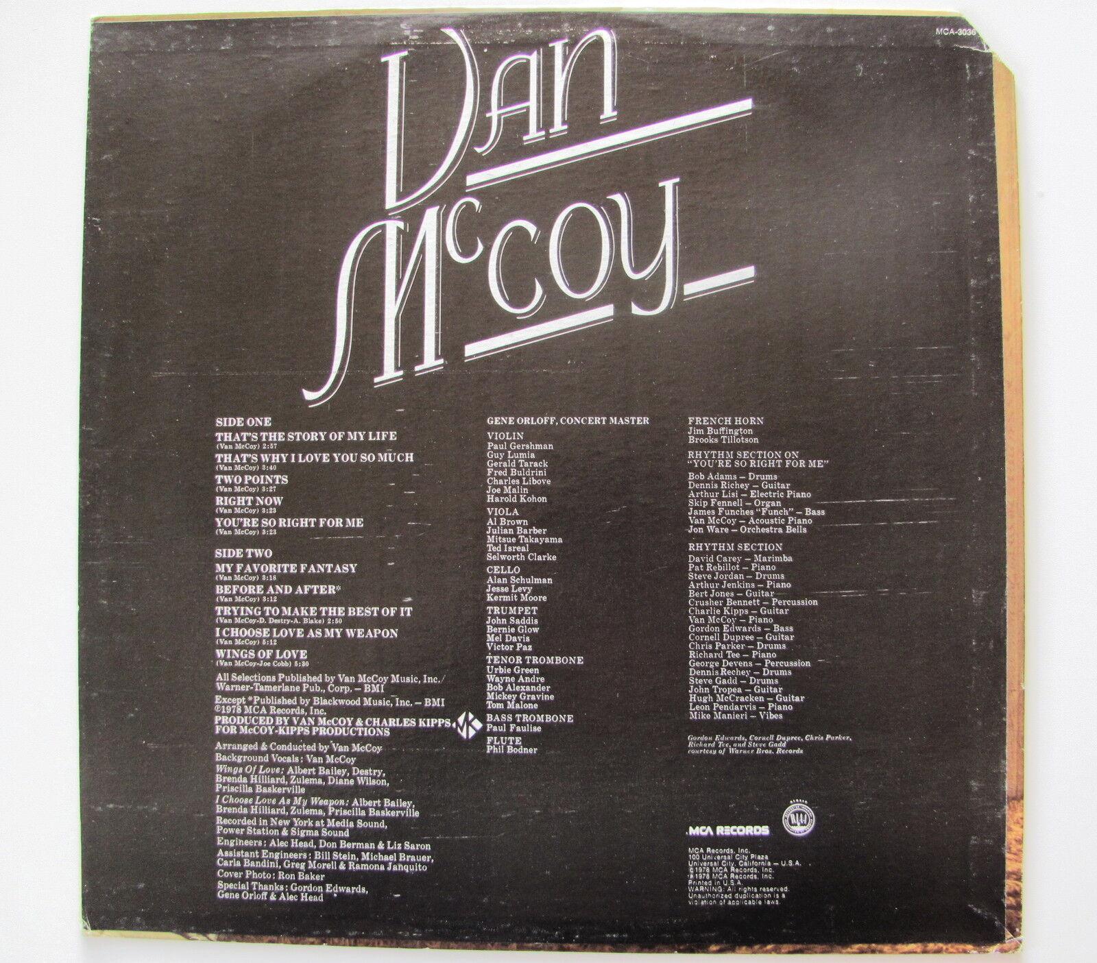 VAN McCOY...........MY FAVORITE FANTASY..............LP