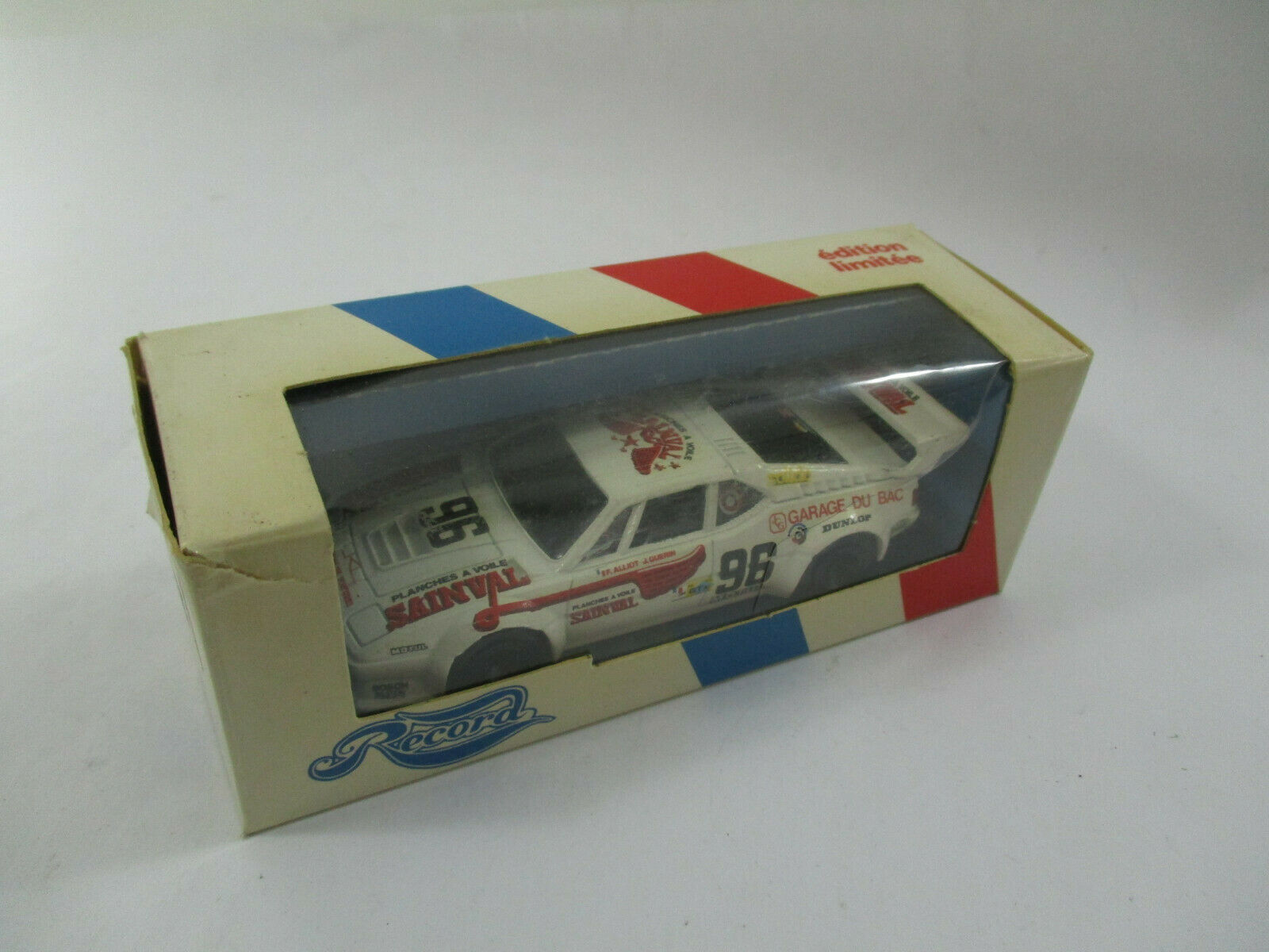 BMW M1 #96 LE MANS 1980 RECORD by SOLIDO 1/43