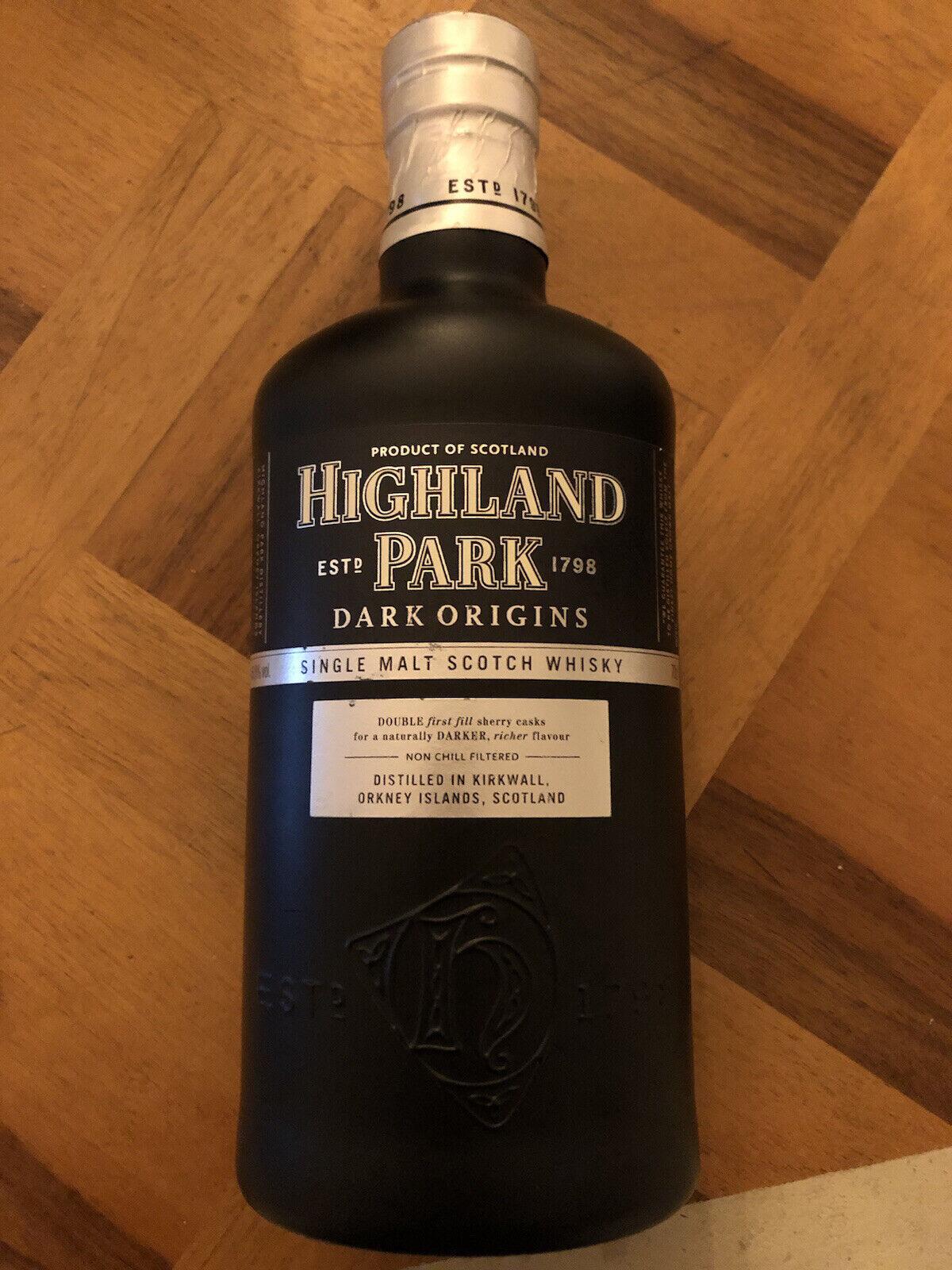 Whisky Highland Park Dark Origins