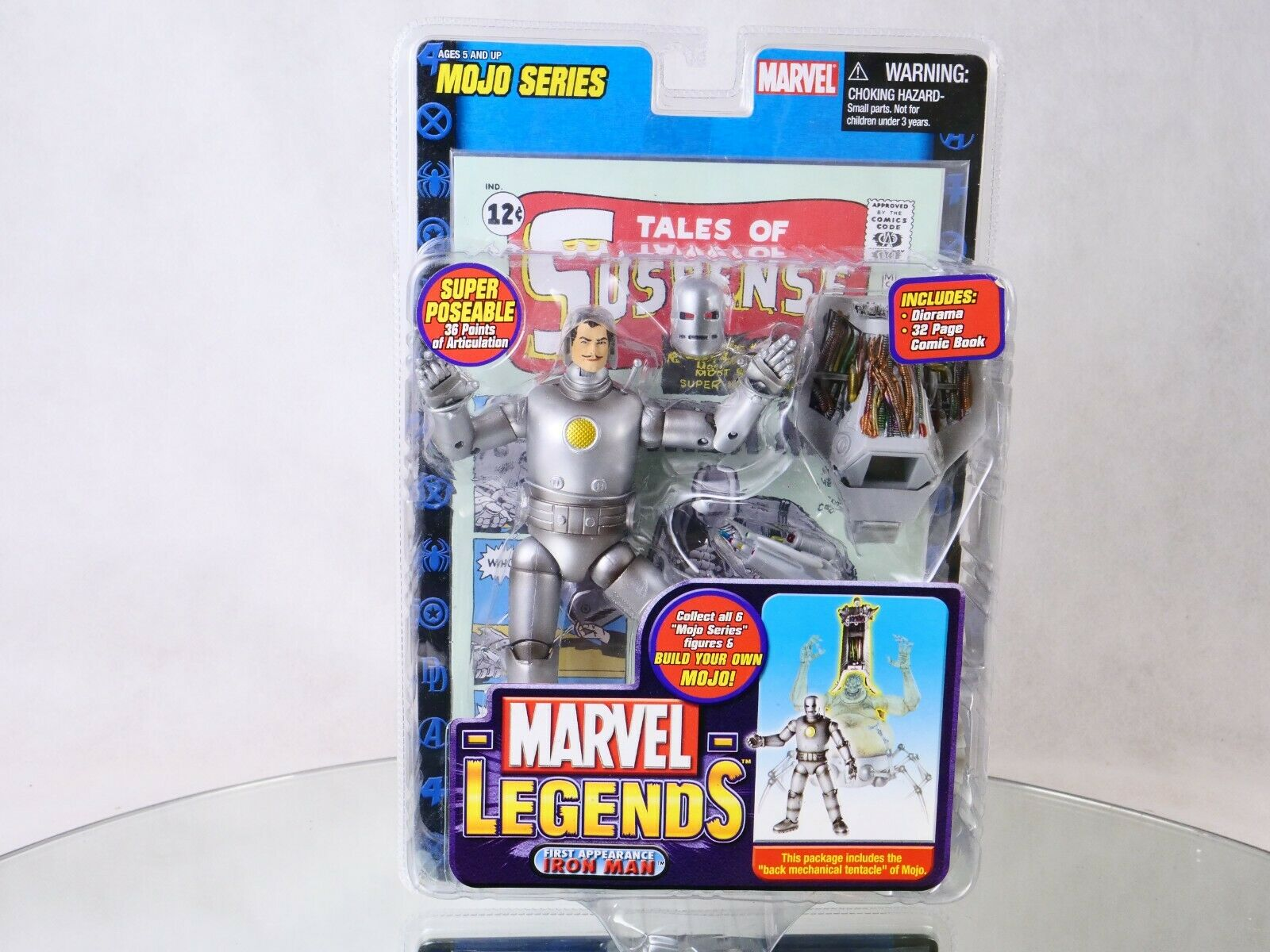Toy Biz - Marvel Legends - Iron Man - Mojo Series - en boite jamais ouverte